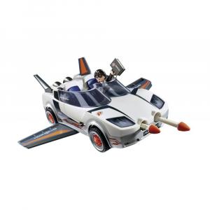 Набор Playmobil Агент Р с гонщиком