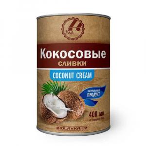 Кокосовые сливки 22% жирности Biolavka