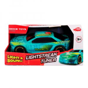 Машинка Dickie Toys со световым тюнингом