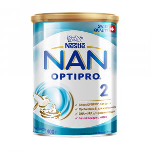 Сухой молочный напиток NAN 2 400 гр