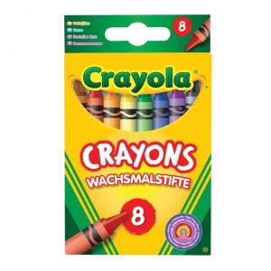 Мелки Crayola восковые 8 шт