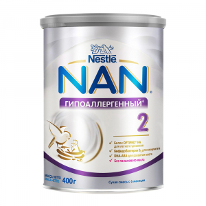 Смесь NAN 2 гипоаллергенная 400 гр