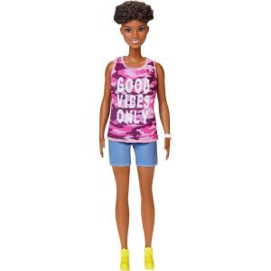 Кукла Barbie Fashionistas with love tank top