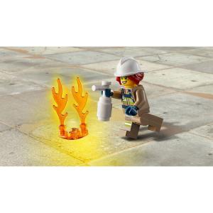 Конструктор LEGO City Fire Пожарный спасательный вертолет