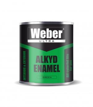 Эмаль зелённый 2.7 кг WEBER