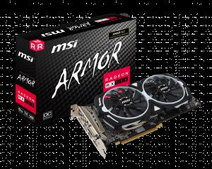 MSI AMD Radeon RX 580 ARMOR OC