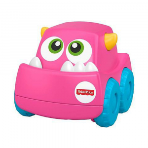 Машинка Fisher - Price монстрики (розовый)