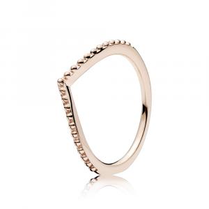Wishbone PANDORA Rose ring