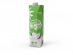 Органическое кокосовое молоко питьевое