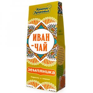Иван-чай Земляника Компас Здоровья 60гр