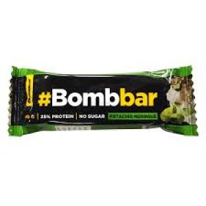 Протеиновый батончик Bombbar в шоколаде Фисташковая меренга