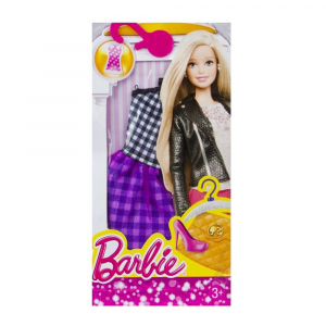 Платье Barbie Fashion pink-yellow