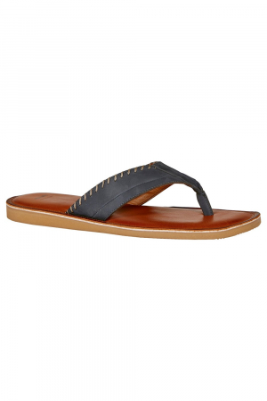 BATA - MEN SANDAL - BLUE NUBUCK UPPER
