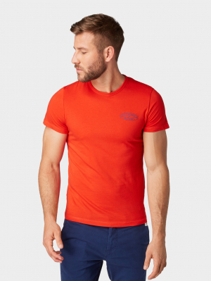pinted tee, Basic Red, M