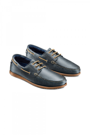 BATA SHOE IN NUBUCK COLOR BLUE