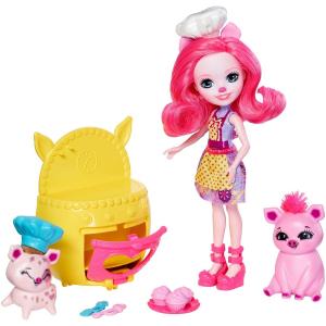 Кукла Enchantimals Пекарня со зверюшкой FJJ28