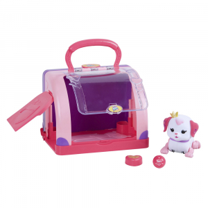 Игрушка интерактивная Little Live Pets Cutie Pup Playcase with Pup and Accessories, Ruby
