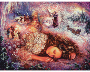 Зимние сны (Winter dreaming) 400 деталей