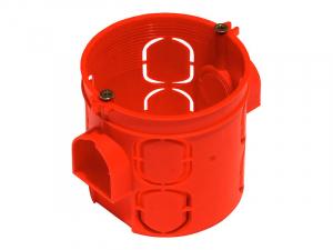 Подрозетник по бетон (красный)