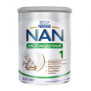 Смесь Nan 1 кисломолочная 400 гр