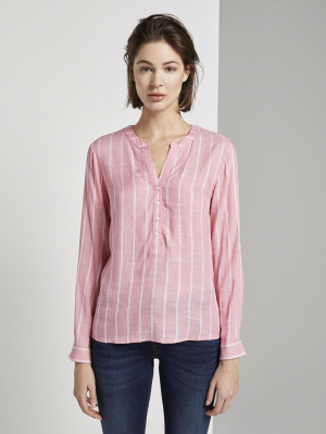 structured bl, pink vertical striped, 38