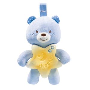 Подвеска-ночник Chicco Goodnight Bear голубая