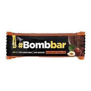 Протеиновый батончик Bombbar в шоколаде Фундучное пралине
