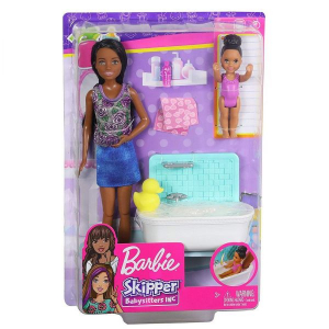 Набор Barbie Skipper babysitters bath time