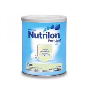 Сухая молочная смесь Nutrilon Pre 400 гр