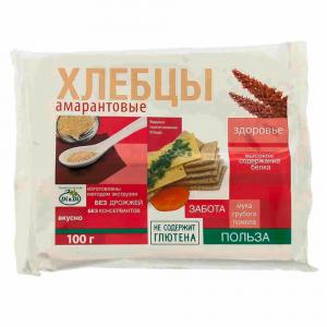 Хлебцы амарантовые  Di&Di  100г