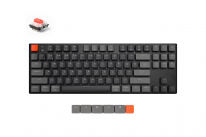 Keychron K1 87 keys, Gateron Red, RGB