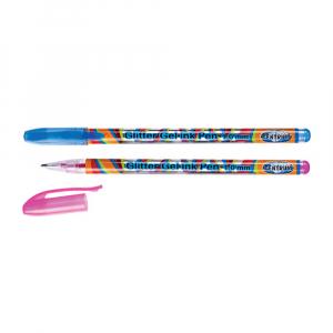 Ручка Centrum гелевая с цветными чернилами с блестками 1,0 мм в ассортименте