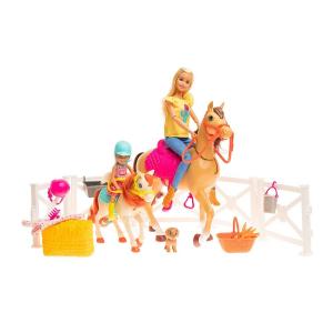 Набор игровой Barbie Челси и любимые лошадки FXH15