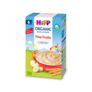 Молочная каша HiPP Milk Pap с нежными фруктами  250 гр