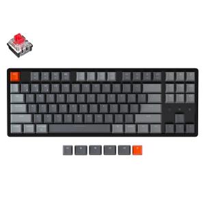 Keychron K8 Aluminum Frame 87 keys, Optical Red, Hot-Swap, RGB