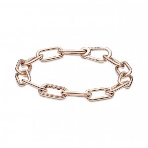 14k Rose gold-plated link bracelet
