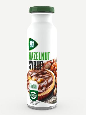 Сироп FitActive Лесной орех 300мл пребиотик со стевией  (бутылка)