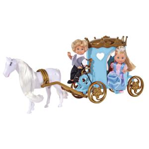 Кукла Evi Simba Еви и Тимми в карете 5738516