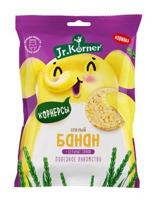 Хлебцы мини Korner Банан 30гр Без сахара, Без глютена