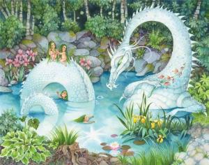 Белый дракон   45 деталей