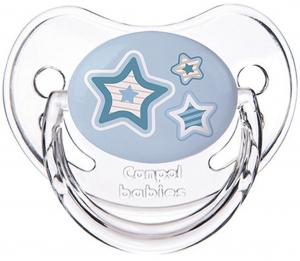Пустышка сил. Canpol babies Newborn baby симметричная 0-6м голубая