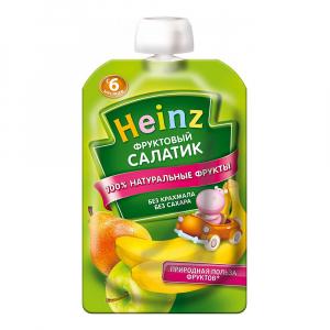 Пюре Хайнц Фруктовый салатик 100 г
