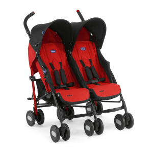 Коляска для двойни Chicco Echo Twin Garnet