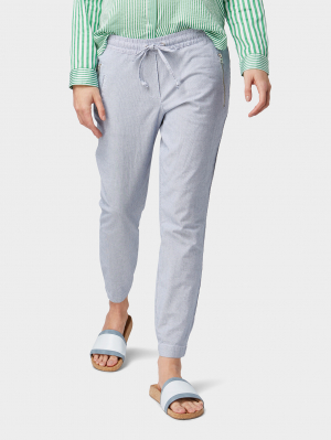 casual loose f, Thin Stripe Pants, 36/32