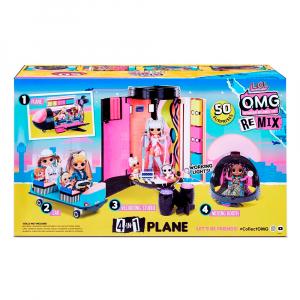 Набор L.O.L. Surprise! O.M.G. Plane Remix
