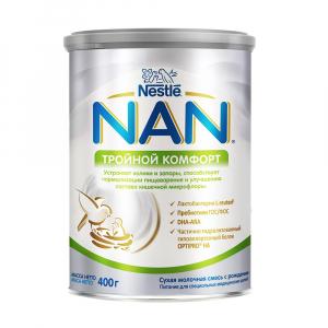Смесь NAN тройной комфорт 400 гр