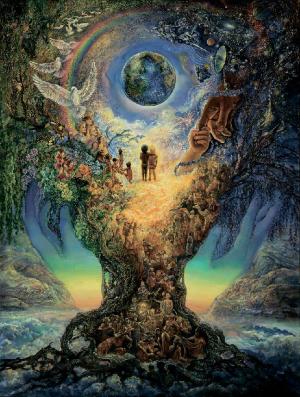 Дерево жизни.Миллениум (Millenium tree)  1100 деталей