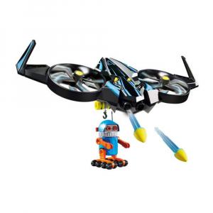 Набор Playmobil Летательный дрон с роботом