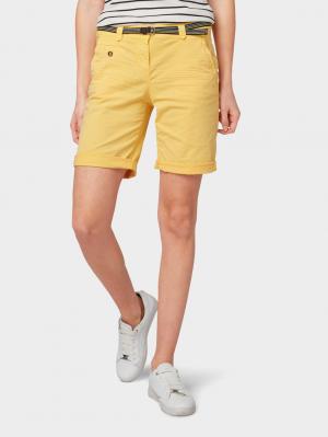 Tom Tailor Chino Ber, daylily yellow, 40