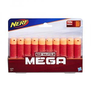 Стрелы для бластеров Nerf Мега 10 шт